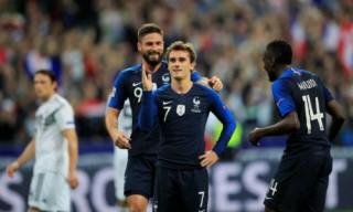 Pháp đẩy Đức tới miệng vực tụt hạng ở Nations League