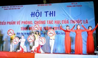 Từ tối 16-10 đến 19-10-2018: Diễn ra Hội thi Tiểu phẩm về phòng, chống tác hại của thuốc lá