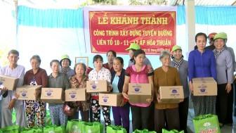 Hơn 230 triệu đồng dành cho các hoạt động thiện nguyện tại huyện Chợ Lách