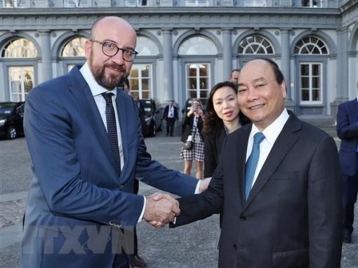 Việt Nam - Bỉ mở rộng, làm sâu sắc hơn mối quan hệ trong nhiều lĩnh vực