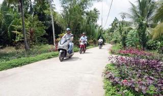 Tân Thanh Tây xây dựng thành công xã nông thôn mới