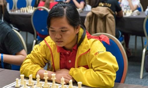 Bạch Ngọc Thùy Dương vô địch cờ nhanh U16 thế giới