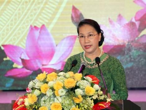 Chủ tịch Quốc hội dự Lễ kỷ niệm 60 năm Ngày Bác Hồ về thăm Bắc Ninh