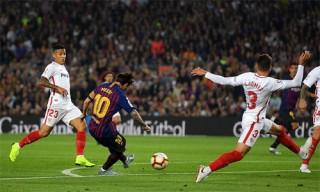Barca giành lại đầu bảng La Liga, dù Messi chấn thương