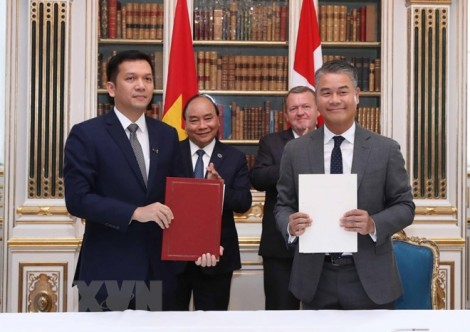 Tuyên bố chung giữa Việt Nam - Đan Mạch nhân chuyến thăm của Thủ tướng