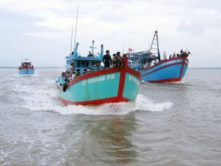 Bình Thắng đảm bảo an ninh trật tự khu vực biên giới biển