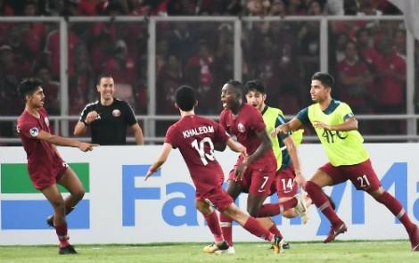 Indonesia thua sát nút sau khi bị dẫn 1-6 ở giải U19 châu Á
