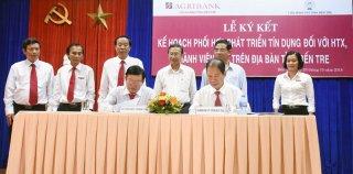 Ký kết thỏa thuận về phối hợp phát triển tín dụng đối với hợp tác xã