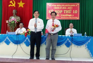 HĐND huyện Mỏ Cày Bắc họp bất thường bầu bổ sung Phó chủ tịch UBND huyện