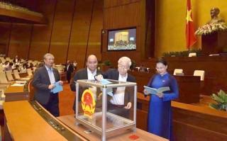 Kết quả Quốc hội lấy phiếu tín nhiệm 48 chức danh