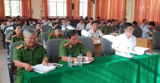 Sơ kết 1 tháng thu thập thông tin dân cư, xây dựng cơ sở dữ liệu quốc gia về dân cư tại Thạnh Phú
