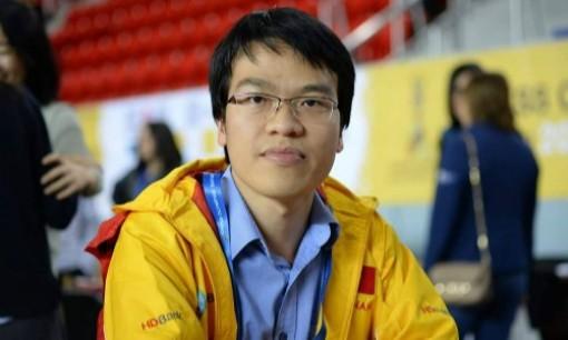Quang Liêm thắng nhờ hai nước dọa chiếu hết ở giải cờ Đảo Man