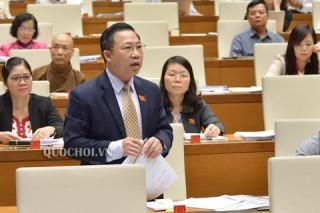 Đại biểu Quốc hội đơn vị tỉnh Bến Tre chất vấn Bộ trưởng Bộ Nội vụ