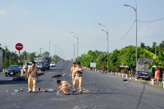 Tai nạn giao thông làm 1 người chết