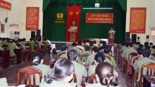Công an tỉnh tập huấn nghiệp vụ công tác tuyên truyền năm 2018