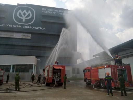 Thực tập phương án chữa cháy tại Công ty CP Việt Nam Chi nhánh Bến Tre