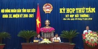 Sáp nhập một số Sở, Ban thuộc UBND tỉnh Bạc Liêu để tinh gọn bộ máy