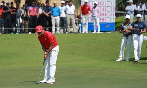 Lê Hữu Giang vô địch giải golf chuyên nghiệp Việt Nam 2018