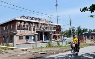 Tân Thiềng, Long Thới (Chợ Lách): Hoàn thành 19/19 tiêu chí xã nông thôn mới