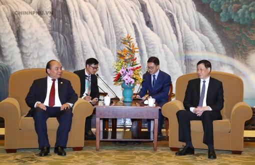 Thủ tướng hoan nghênh các doanh nghiệp thực lực của Thượng Hải đầu tư vào Việt Nam