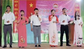 Hướng dẫn tổ chức Ngày hội Đại đoàn kết toàn dân tộc năm 2018