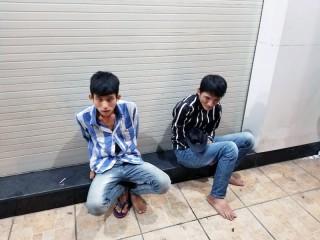 Bắt 2 tên cướp giật tài sản đang trên đường tẩu thoát