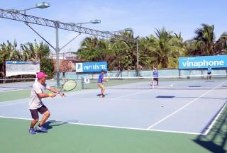 Khai mạc Giải quần vợt đồng đội nam tỉnh Bến Tre năm 2018
