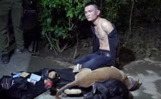 Truy bắt đối tượng trộm chó trong đêm
