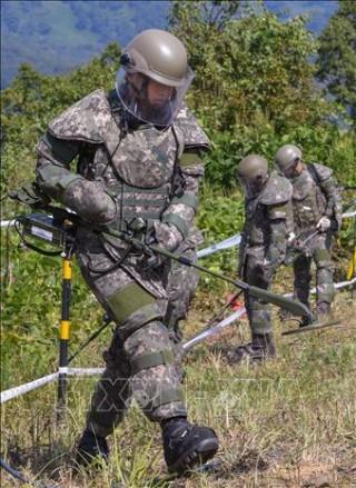 Triều Tiên gỡ bỏ hơn 600 quả mìn tại làng đình chiến Panmunjom