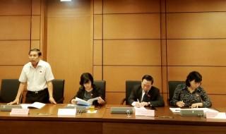 Đại biểu Quốc hội đơn vị tỉnh Bến Tre thảo luận dự án Luật Phòng, chống tác hại của rượu, bia và dự án Luật Quản lý thuế (sửa đổi)
