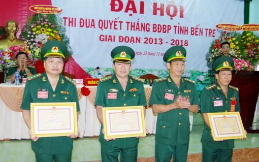 Bộ đội Biên phòng tỉnh: Đại hội thi đua Quyết thắng giai đoạn 2013 - 2018
