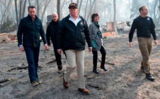 Mỹ tìm kiếm gần 1.300 người mất tích trong cháy rừng California
