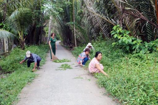 Tổ 1, ấp An Hòa, xã An Hiệp đoàn kết xây dựng xóm làng yên vui
