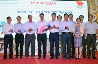 Đoàn thể thao tỉnh tham dự Đại hội Thể thao toàn quốc năm 2018
