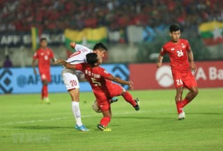 Tuyển Việt Nam hòa 0-0 với Myanmar AFF Cup 2018