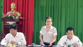 Kiểm tra công tác cải cách hành chính tại huyện Thạnh Phú