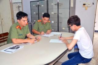 Cảnh cáo thanh niên sử dụng trái phép trang phục Công an nhân dân trên mạng xã hội