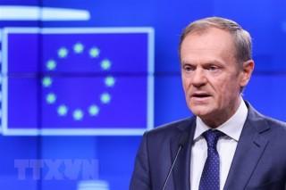 Chủ tịch EC đề nghị 27 lãnh đạo EU thông qua thỏa thuận Brexit