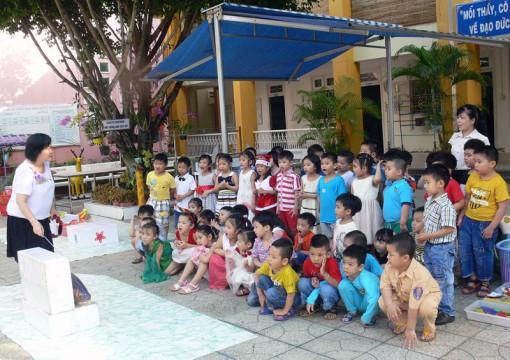 """Trường Mầm non Hoa Dừa, TP. Bến Tre: Điển hình trong thi đua """"Dạy tốt, học tốt"""""""