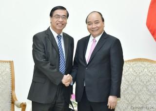 Thủ tướng tiếp Chủ tịch Hội Liên lạc với người Việt Nam ở nước ngoài