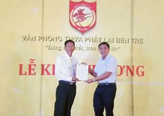 Khai trương văn phòng Thừa phát lại tại Bến Tre
