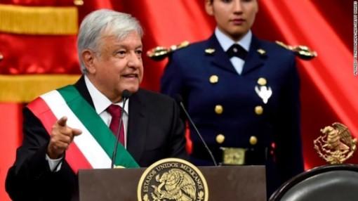 Tổng thống Mexico Obrador nhậm chức với muôn vàn thách thức