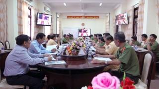 Hội nghị trực tuyến về công tác đảm bảo trật tự an toàn giao thông
