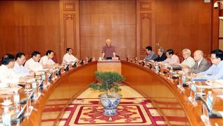 Tổng Bí thư chủ trì cuộc họp Thường trực Tiểu ban Văn kiện Đại hội XIII của Đảng