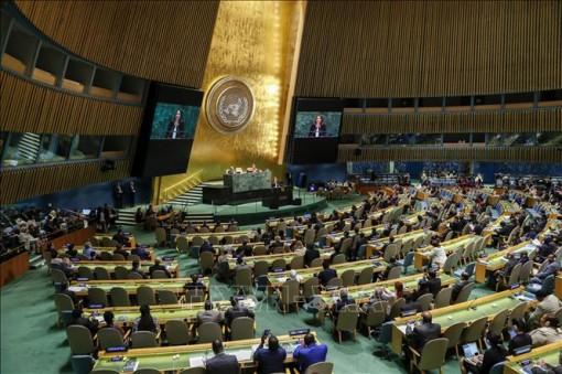 Liên hợp quốc ủng hộ nghị quyết phản đối vũ khí hạt nhân
