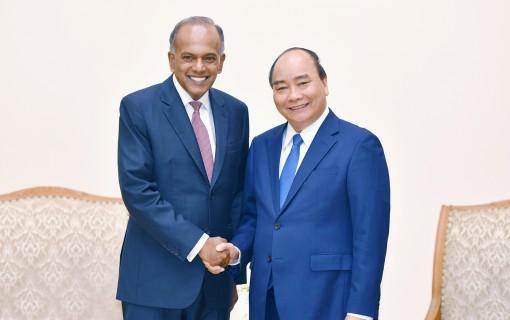 Tăng cường hợp tác giữa Bộ Nội vụ Singapore và Bộ Công an Việt Nam