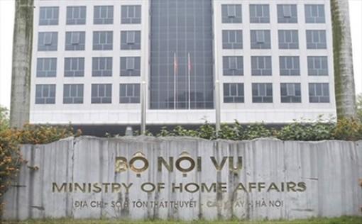 Bộ Nội vụ đề nghị tạm dừng việc sắp xếp các cơ quan chuyên môn cấp tỉnh, huyện