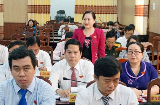 Chất vấn và trả lời chất vấn tại Kỳ họp thứ 9, HĐND tỉnh khóa IX, nhiệm kỳ 2016 - 2021
