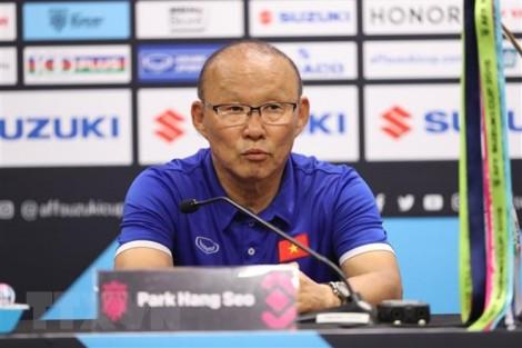 HLV Park Hang Seo khẳng định lượt về đội tuyển Việt Nam sẽ khác