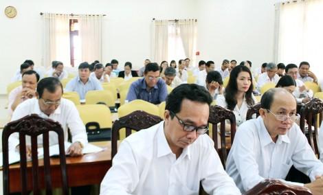 Tập huấn nghiệp vụ cho Hội thẩm nhân dân